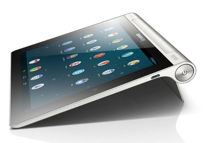 Lenovo launches 8-inch and 10-inch Yoga Tablet