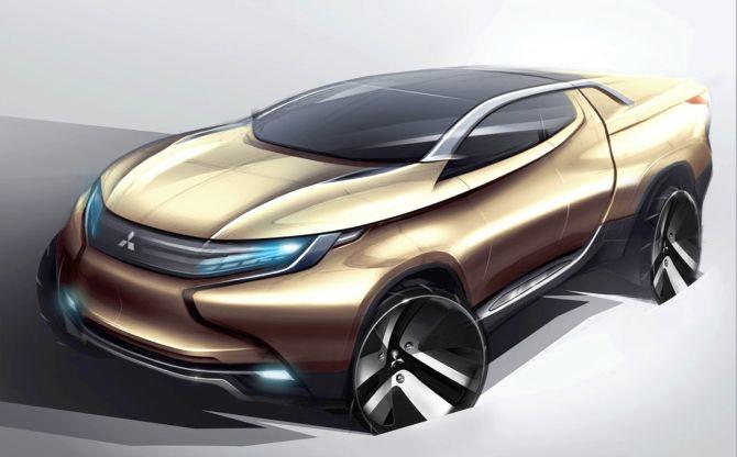 Mitsubishi concept car GR-HEV.