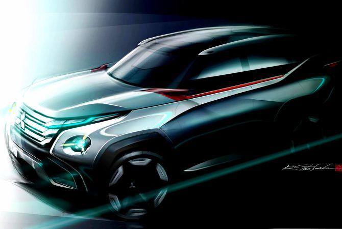 Mitsubishi Concept GC-PHEV.