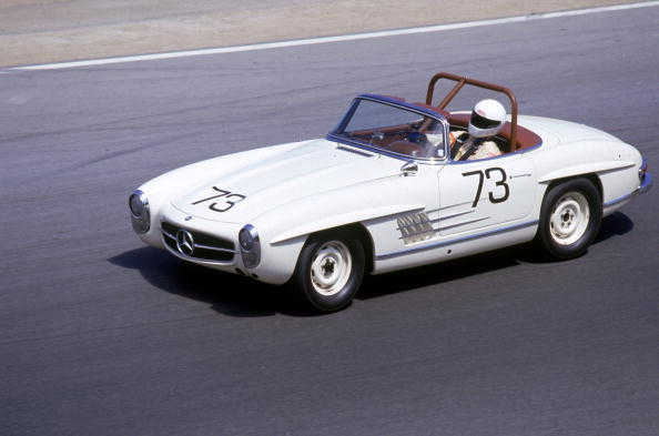 Iconic images capture the beauty of Mercedes-Benz
