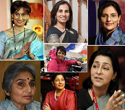 India Inc's women leaders.