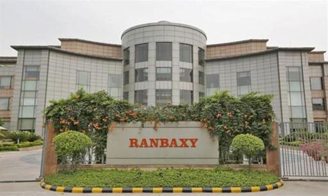A general view of the office of Ranbaxy Laboratories.