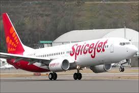 A Spicejet aircraft