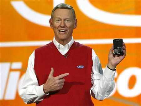 Ford Motor Co chief Alan Mulally.
