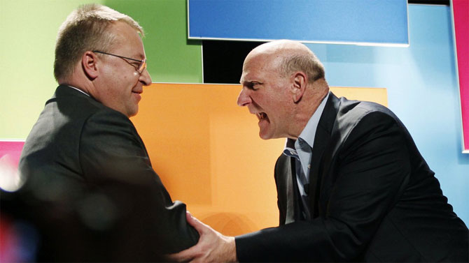Microsoft CEO CEO Steve Ballmer.