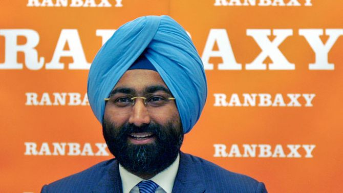 Malvinder Singh, former Ranbaxy chairman.