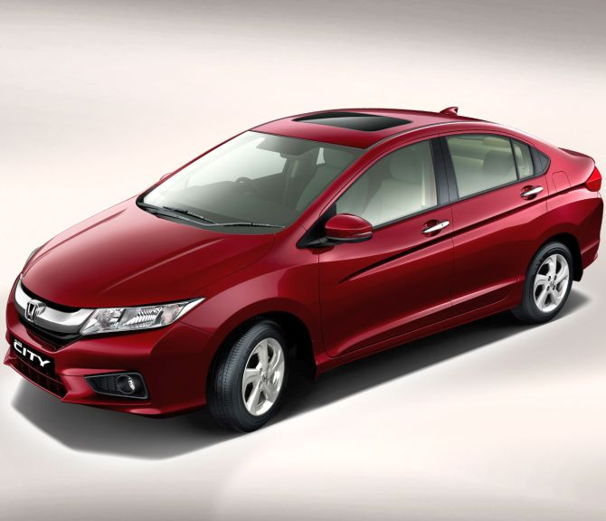 New Honda City.