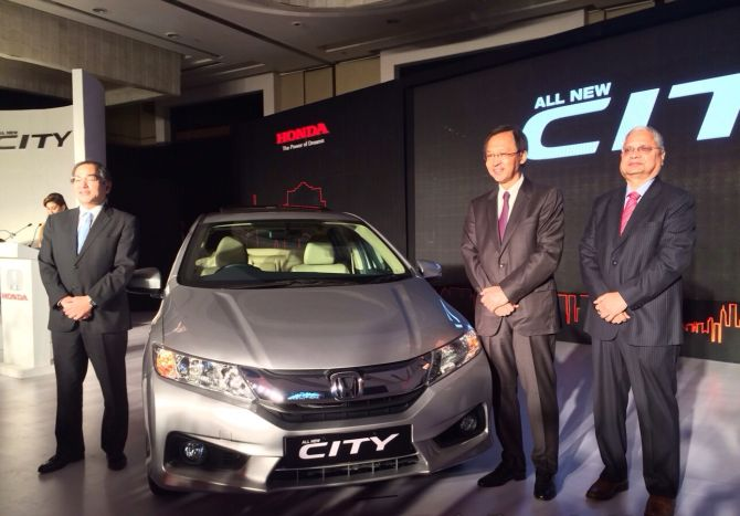 Finally, Honda unveils the all-new City!