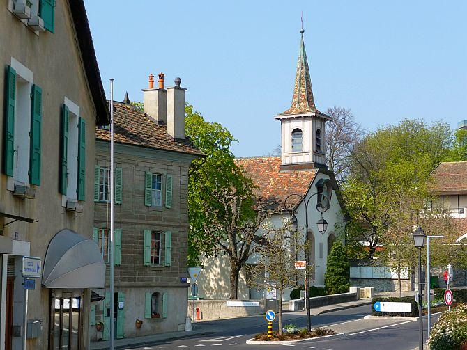 Cologny street.