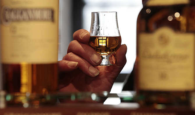 Indian whisky market is witnessing a boom.