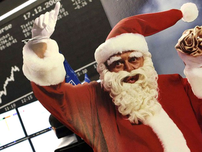 Will December see a Santa Claus rally?