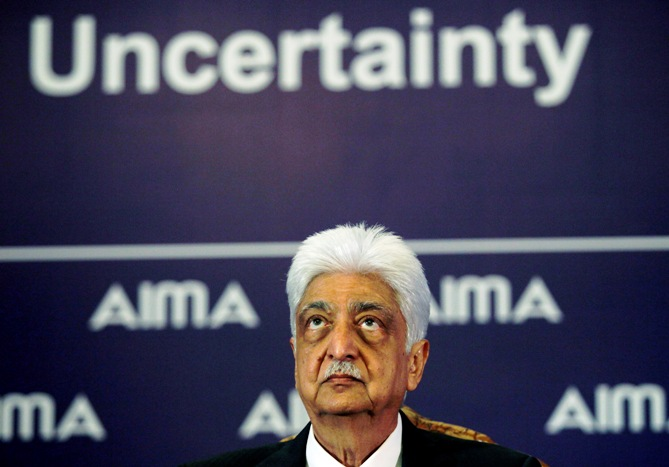 Wipro Chairman Azim Premji attends the 40th National Management Convention organised by All India Management A