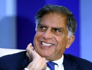Ratan Tata at the launch of Goldplus Nano.