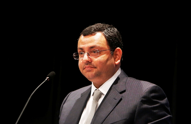 Tata Group Chairman Cyrus Mistry speaks to shareholders during the Tata Consultancy Services annual general meeting in Mumbai June 28, 2013.
