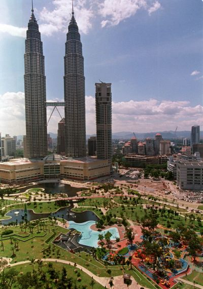 A 20 hectare tropical landscape in the heart of Kuala Lumpur City Centre.
