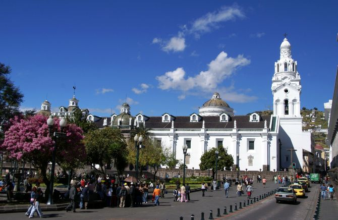 Cathedral of Quito.