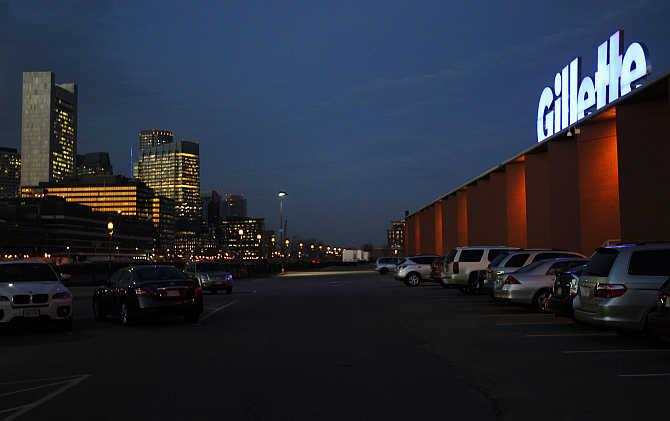 Gillette's factory in Boston, Massachusetts.