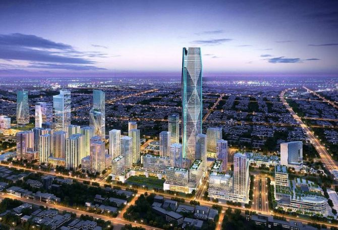 Buildings that will change Indias skyline Rediffcom Business