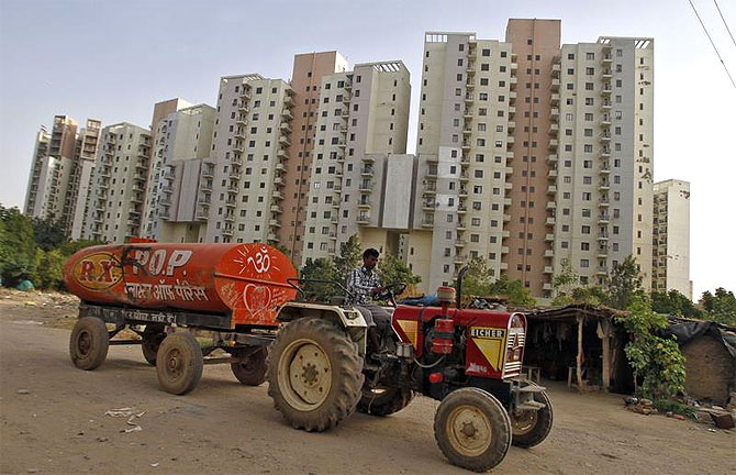 Brick by brick, Indian realty story crumbles