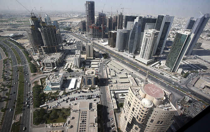 A view of Doha, Qatar