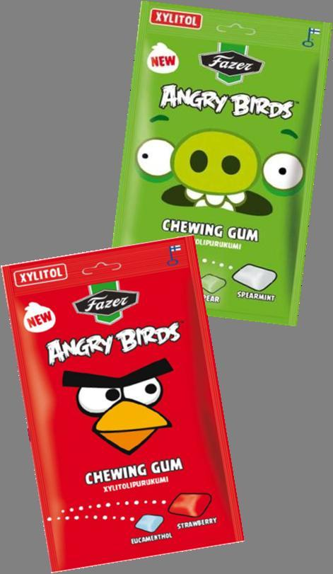 Angry Bird Chewing Gums.