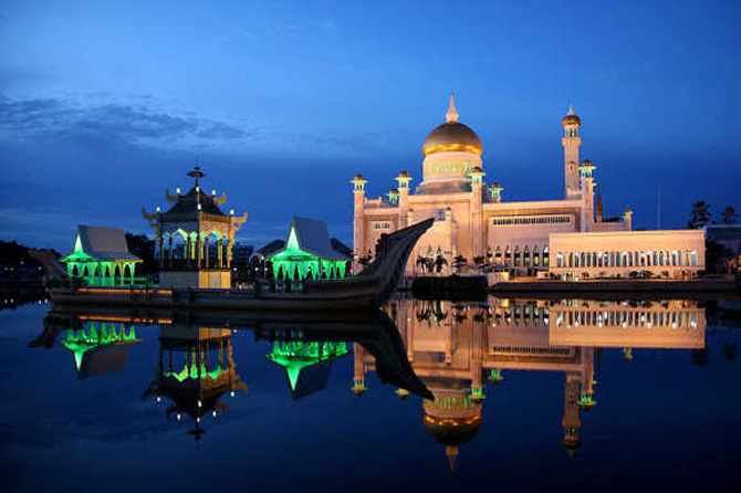 A view of capital Bandar Seri Begawan.