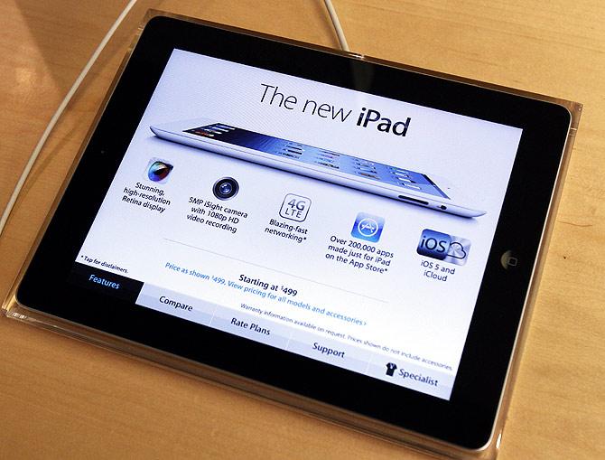 Apple's newest iPad