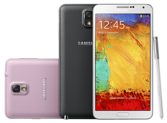 Galaxy Note 3: Takes the phablet craze one step further