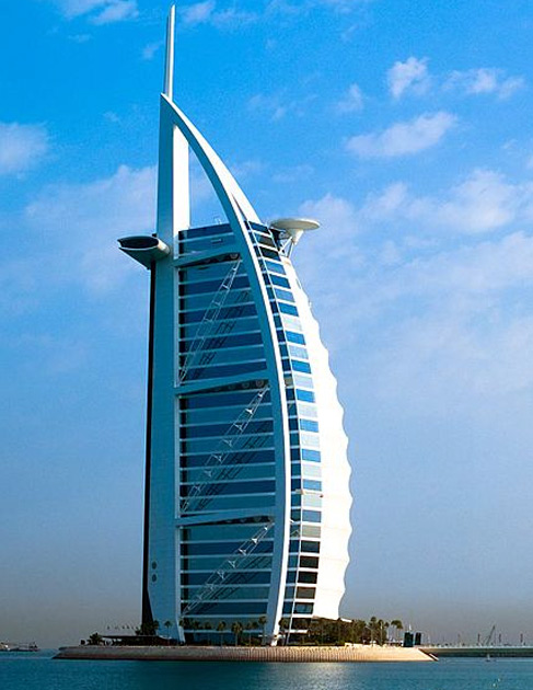 Most iconic buildings in the world business Burj al arab architecture