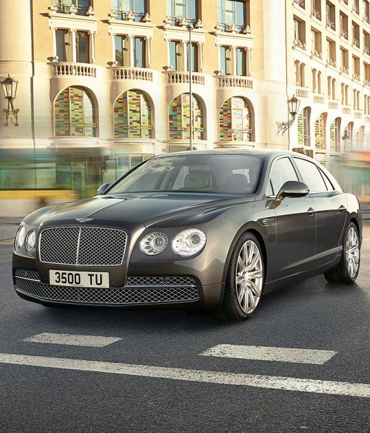 Bentley Flying Spur: The billionaire's dream machine