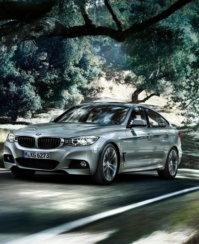 BMW 3-Series GT model.