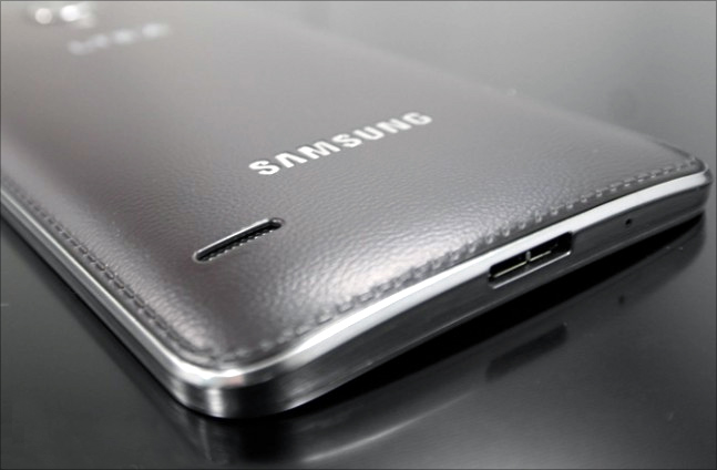 Samsung launches world's first smartphone with curved screen