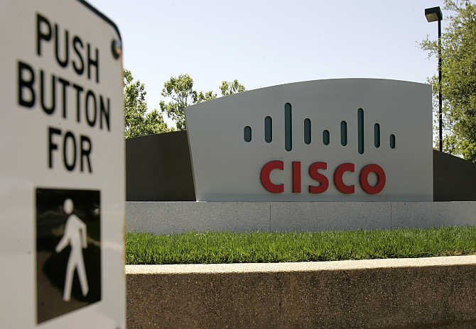 Cisco Systems's headquarters in San Jose, California.