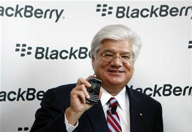 BlackBerry co-founder Mike Lazaridis.