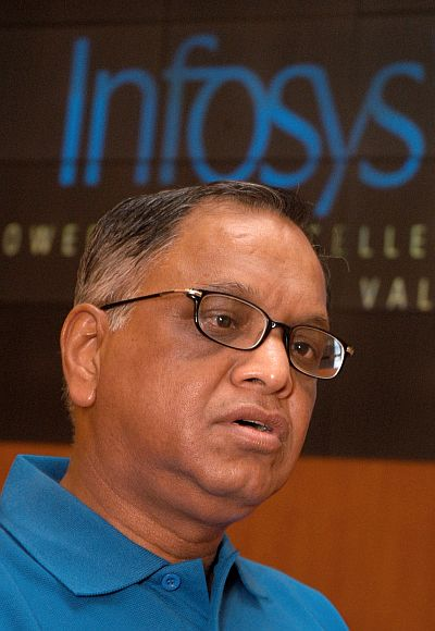Infosys Chairman N R Narayana Murthy