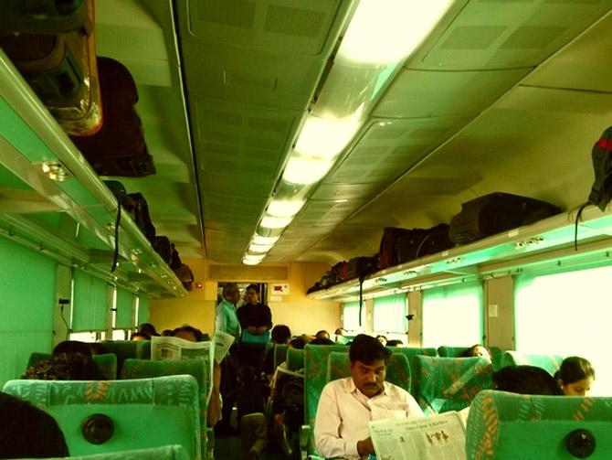 Delhi-Kalka Shatabdi Express