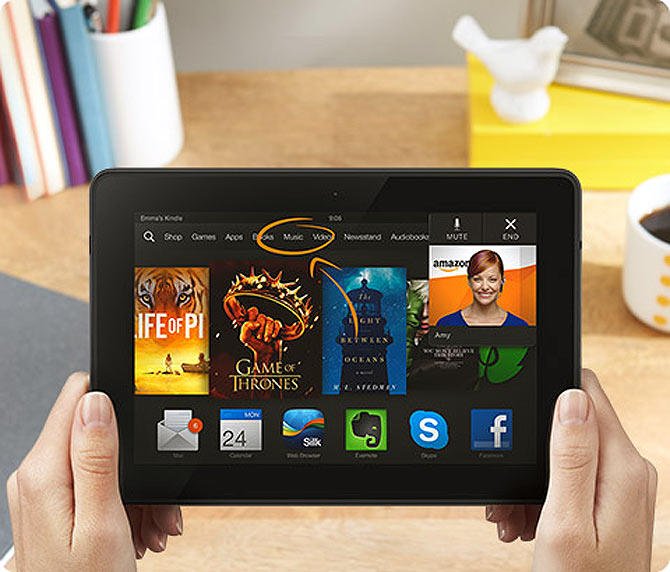 Kindle Fire HDX: An affordable tablet with great features