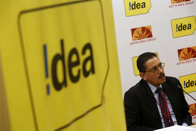 Idea Cellular's Managing Director Himanshu Kapania in Mumbai.