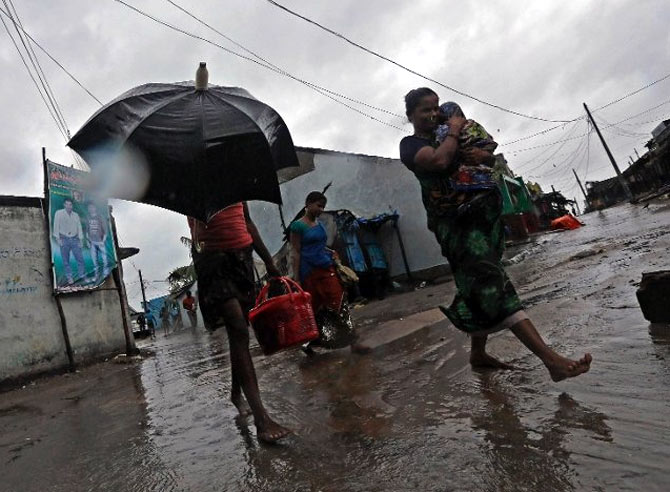 Odisha loses Rs 2,300 crore worth of crops to Phailin