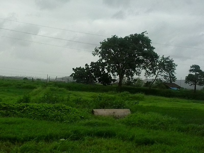 Dhakti Jui Village in Uran.
