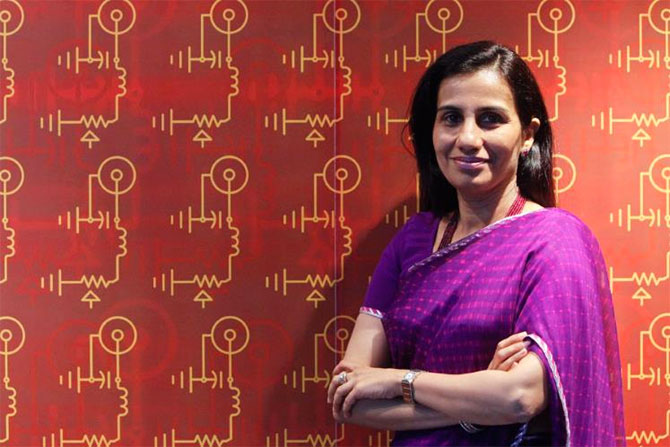 ICICI Bank CEO Chanda Kochhar.