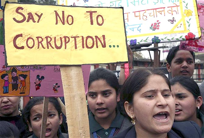 Are Indians really worried about corruption?
