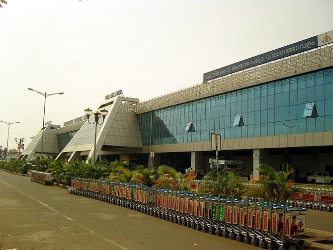Calicut International Airport.