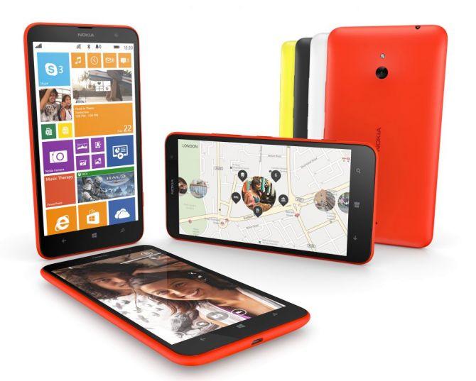 Nokia Lumia 1320.