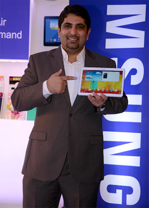 Samsung unveils new Galaxy Note 10.1 in India