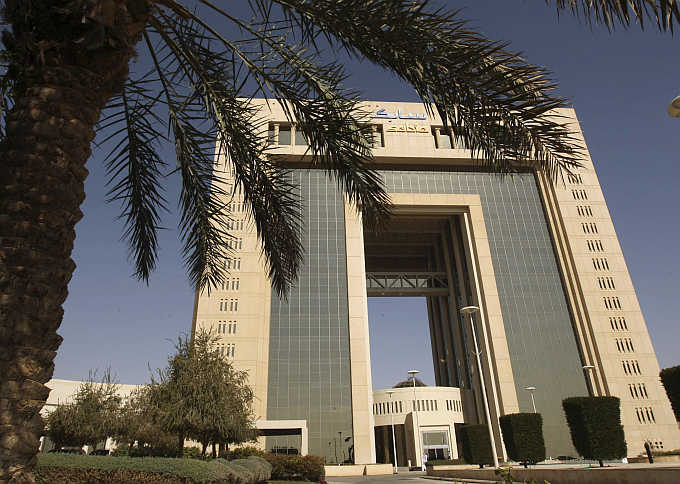 A view of the headquarters of Saudi Basic Industries Corporation in Riyadh, Saudi Arabia.