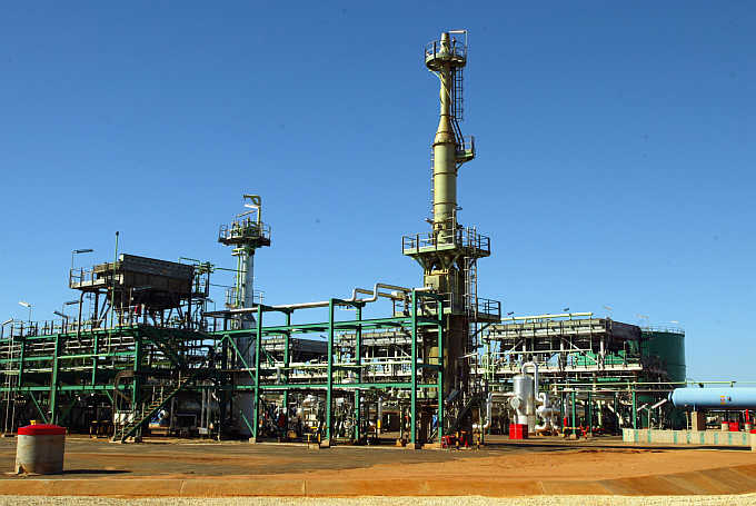 A Sasol plant in the Inhambane province of Mozambique.