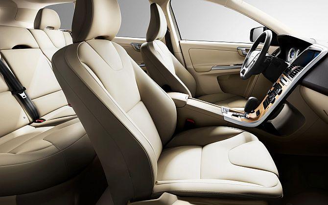 Interior of Volvo XC60.