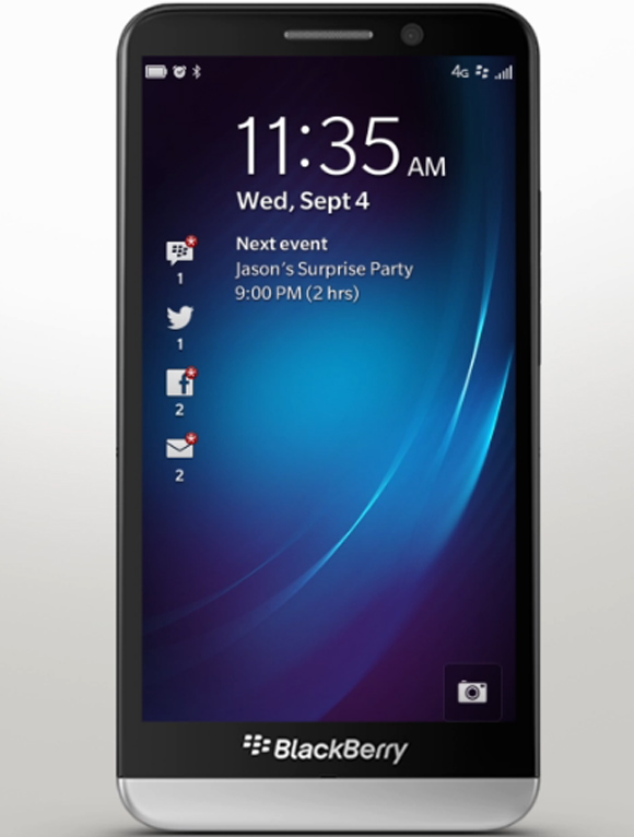 What the BlackBerry Z30 has in store for you