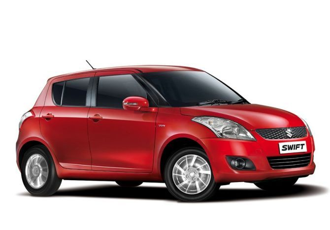Maruti Swift.